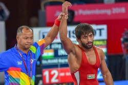 Asian Games Bajrang Punia Wins India S First Gold Medal