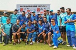 Quadrangular Series 2018 India B Vs Australia A India Vs South Africa A