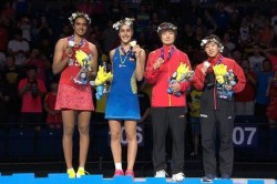 Bwf World Championships Carolina Marin Scripts History As Pv Sindhu Loses Fourth Final Of
