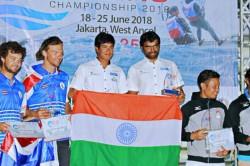 Asian Games 2018 Varun Thakkar Ganapathy Chengappa Finish Third