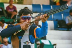 Issf World Championship Ankur Mittal Wins Double Trap Gold