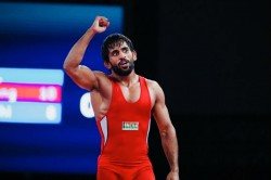 Bajrang Wins Silver Become First Indian With Two Wwc Medals