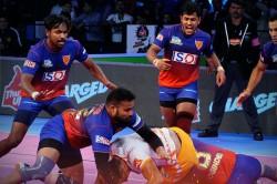 Pro Kabaddi 2018 Dabang Delhi Beat Puneri Paltan 41
