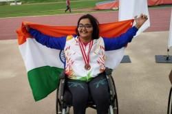 Asian Para Games 2018 Ekta Bhyan Bags Gold Club Throw