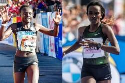 World Record Holder Jepkosgei Joins Delhi Half Marathon Challenge Dibaba