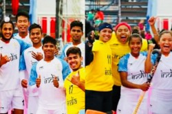 Youth Olympic Games Women Hockey Teams Finish With Silver Madals