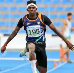 Triple Jumper Praveen Chitravel Clinches Bronze Youth Olympics