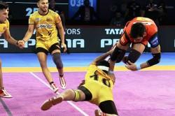 Pro Kabaddi 2018 Bengaluru Secure 34 26 Win Over Telugu Titans