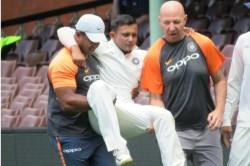 India Vs Australia Prithvi Shaw Suffers Ankle Injury