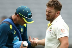 Aaron Finch Determined Play Boxing Day Test Despite Finger Injury