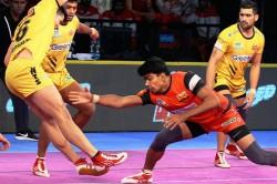Pro Kabaddi 2018 Bengaluru Bulls Win High Scoring Encounter 37