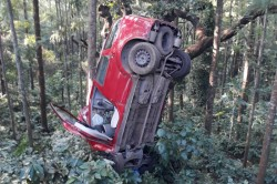 Accident Occurred At The National Level Inrc Rally