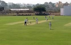 Ranji Cricket Shimoga Karnataka Vs Railways First Day Report