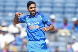 Bhuvneshwar Kumar Becomes 12th Indian Pacer Take 100 Odi Wickets