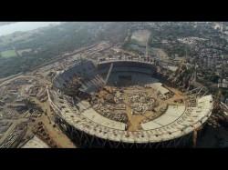 Worlds Largest Cricket Stadium In Motera Gujrat Melbourne Cricket Ground