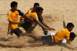 State Level Football Regional Level Kabbadi Tornament Held Mysuru