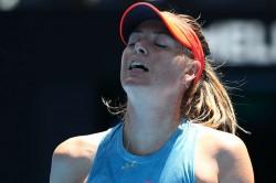 Sharapova Crashes Out Of Australian Open