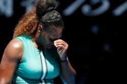 Australian Open Serena Williams Stunned Karolina Pliskova Fightback