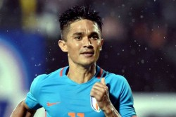Chhetri Goes Past Lionel Messi As India Record Historic Win At Asian Cup