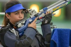 Issf World Cup Apurvi Chandela Shatters 10m Air Rifle World Record