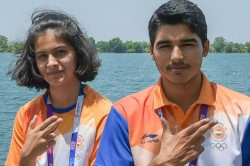 Issf World Cup Manu Bhaker Saurabh Chaudhary Win Gold