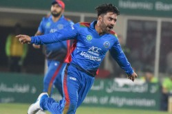 Rashid Khan Hat Trick Seals Afghanistan T20 Sweep Against Ireland