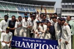 Ranji Trophy Vidarbha Win 78 Runs Clinch Second Title