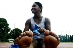 Asian Games Gold Medalist Swapna Gets Customised Shoes Her 12 Toed Feet