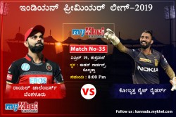 Rcb Aiming To Get Back To The Winning Track When They Face Kkr At Eden Garden