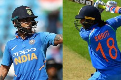 Virat Kohli Smriti Mandhana Named Wisden S Leading Cricketers Of