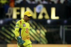 Ms Dhoni Ruled Out Of Ipl 2019 Match Against Mumbai Indians Heres Why