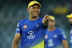 If I Tell The Secret Of Reaching Play Offs Chennai Won T Buy Me At The Auction Ms Dhoni