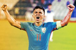 Sunil Chhetri Will Keep Playing For India As Long As My Body Permits