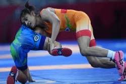 Asian Wrestling Championships Vinesh Phogat Settles For Bronze