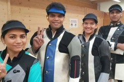 Issf World Cup Indian Teams Win Both Mixed Event Gold Medals