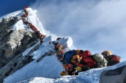 Two Indians Die In Mount Everest Traffic Jam