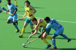 Hockey India Draw 1 1 Against Australia A