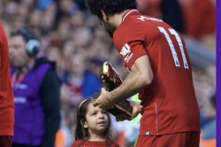 Thunder Thief Mo Salah S Daughter Earns Standing Ovation After Goal