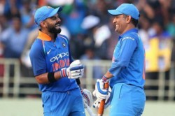 World Cup Dhoni Is Captain Of Captains He Gives Kohli Confidence Raina