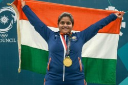 Issf World Cup Rahi Sarnobat Saurabh Chaudhary Bag Gold Medals