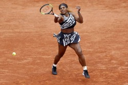 French Open 2019 Serena Williams Cruises Into Round Three