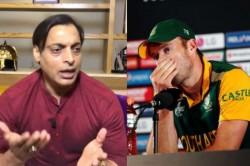 Be A Man Don T Play Gimmicks Shoaib Akhtar Tells Ab De Villiers