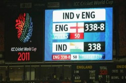 India S Previous World Cup Match Vs England Ended In Tie