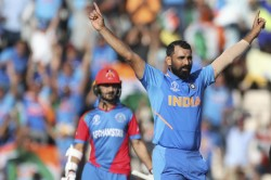 Icc World Cup 2019 Mohammed Shami Reveals Ms Dhonis Role Behind His Hat Trick Against Afghanistan