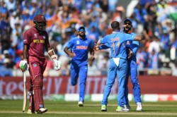 World Cup 2019 Kohli Shami Imitate Sheldon Cottrell S Salute Celebration