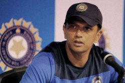 Head Of Cricket Dravid To Take Charge At Nca On July
