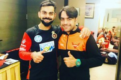 Rashid Khan Reveals How His Special Bat Gifted By Virat Kohli Was Stolen By Afghan Teammate