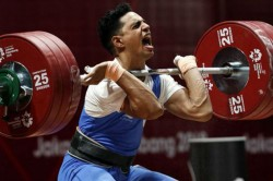 Lifter Ajay Singh Creates New Commonwealth Record