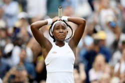 Year Old School Girl Cori Gauff Turfs Venus Williams Out Of Wimbledon