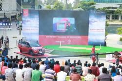Nissan Leaf Enthrals Bengaluru At One Of A Kind Cwc Semi Final Match Screening